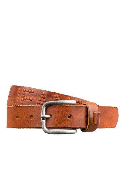 Pepe Jeans Ledergürtel, Farbe: BRAUN (Bild 1)