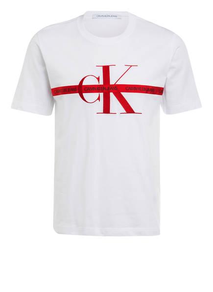 Calvin Klein Jeans T-Shirt, Farbe: WEISS (Bild 1)
