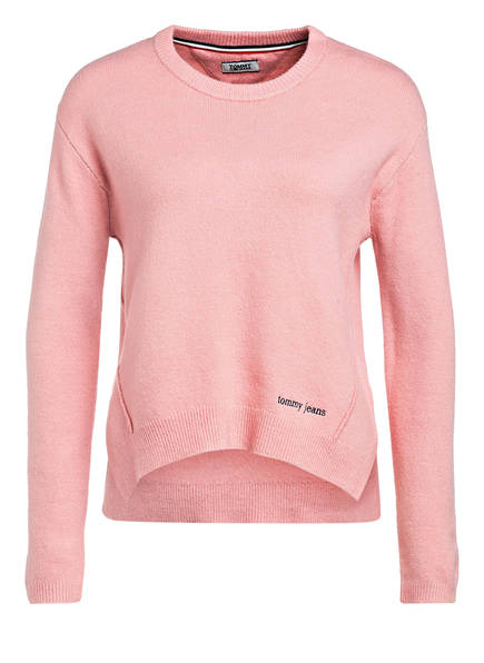 TOMMY JEANS Pullover , Farbe: ROSA (Bild 1)