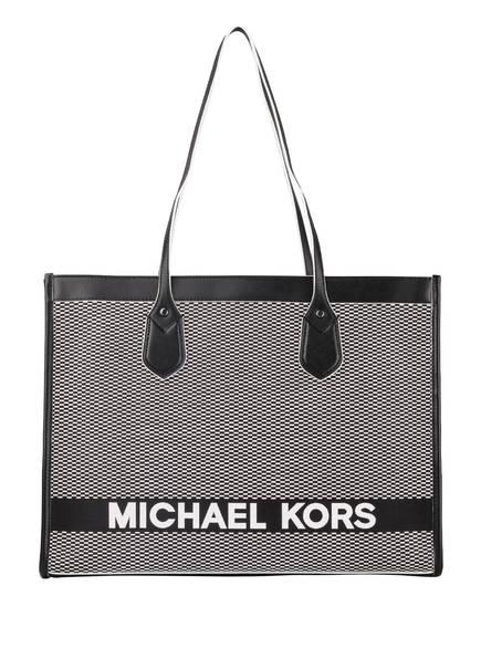 MICHAEL KORS Shopper BAY, Farbe: SCHWARZ/ WEISS (Bild 1)