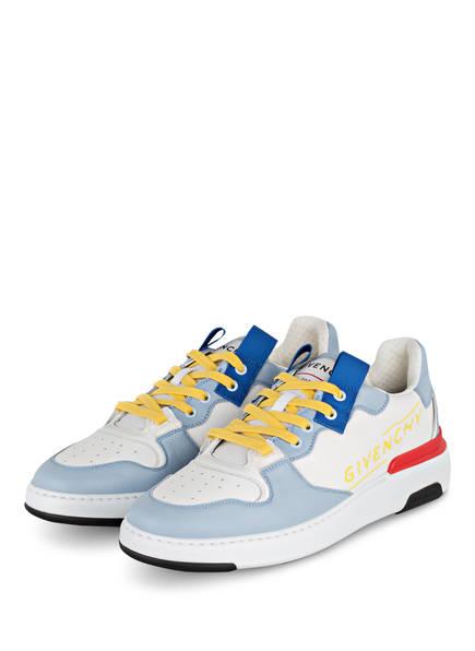 GIVENCHY Sneaker WING , Farbe: WEISS/ HELLBLAU (Bild 1)