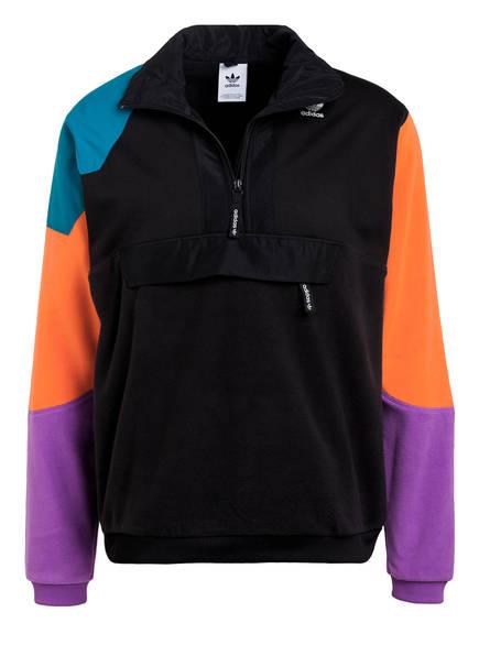 adidas fleece jacke schwarz