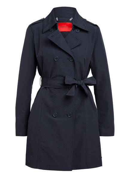 MAX & Co. Trenchcoat DAIANA , Farbe: DUNKELBLAU (Bild 1)