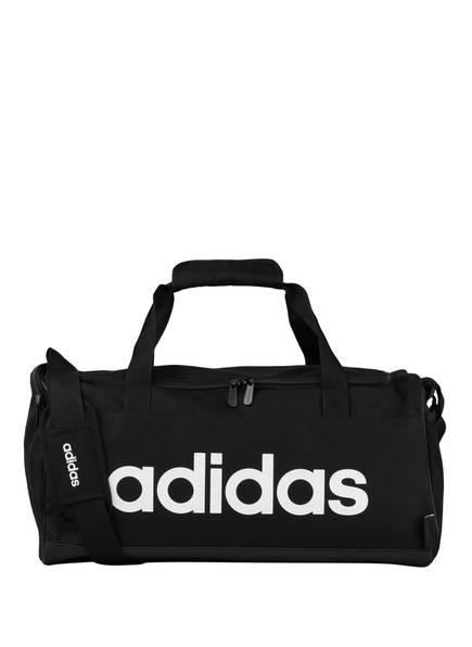 adidas Sporttasche LINEAR LOGO S, Farbe: SCHWARZ/ WEISS (Bild 1)
