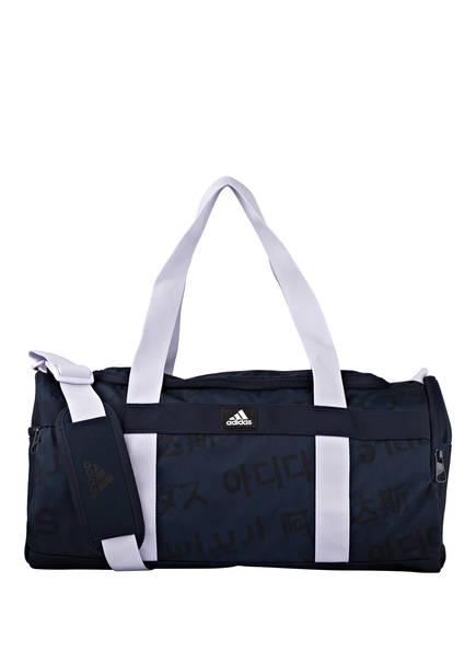adidas Sporttasche 4ATHLTS M, Farbe: DUNKELBLAU/ LILA (Bild 1)