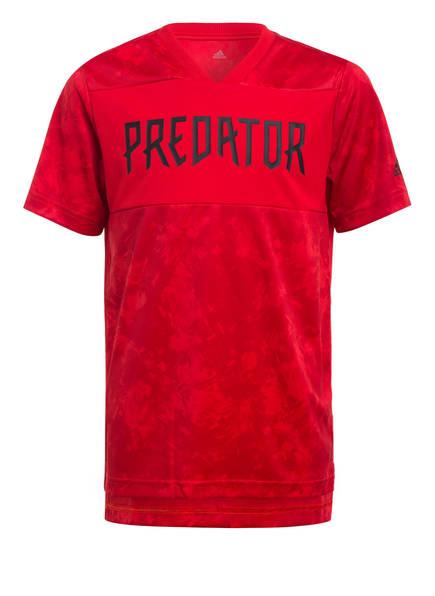 adidas T-Shirt PREDATOR, Farbe: ROT (Bild 1)