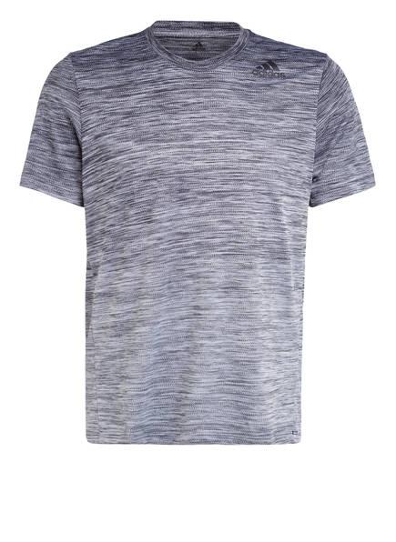 adidas T-Shirt TECH GRADIENT, Farbe: GRAU MELIERT (Bild 1)