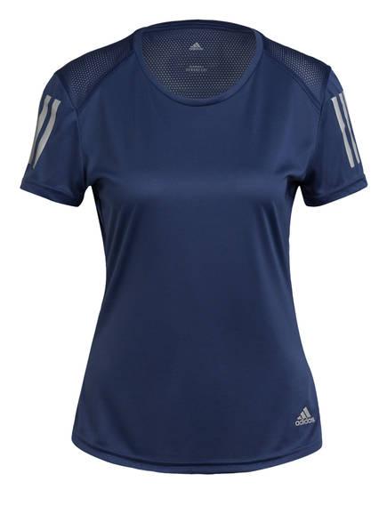 adidas T-Shirt OWN THE RUN, Farbe: BLAU (Bild 1)