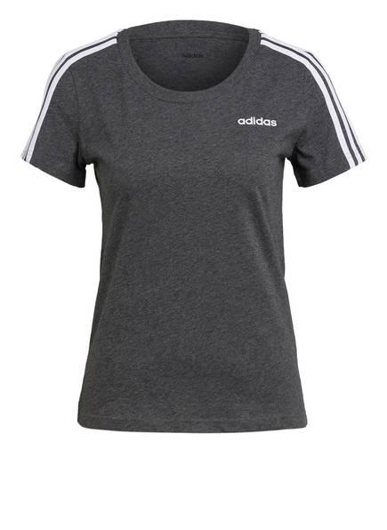 adidas T-Shirt ESSENTIALS, Farbe: GRAU MELIERT (Bild 1)