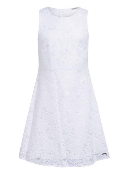 GUESS Kleid mit Spitzenbesatz, Farbe: WEISS (Bild 1)