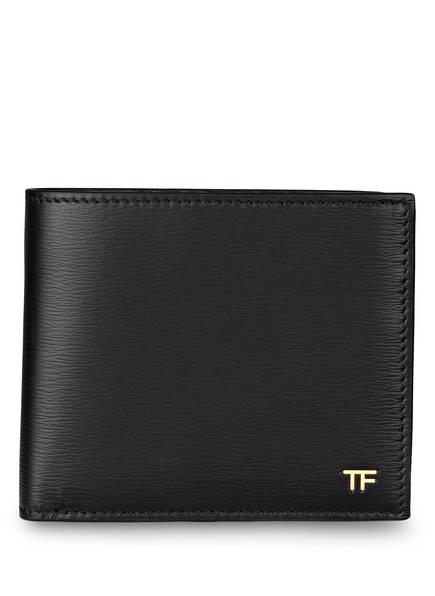 TOM FORD Saffiano-Geldbörse, Farbe: SCHWARZ (Bild 1)
