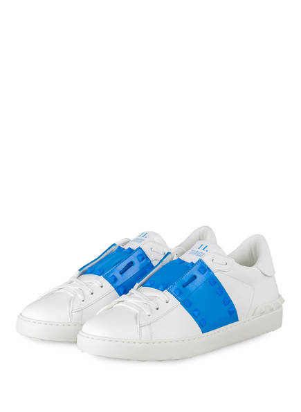 VALENTINO GARAVANI Sneaker ROCKSTUD UNTITLED, Farbe: WEISS/ BLAU (Bild 1)