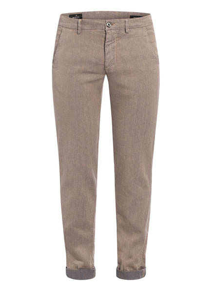 MASON'S Leinenchino TORINO STYLE Slim Fit , Farbe: BEIGE  (Bild 1)