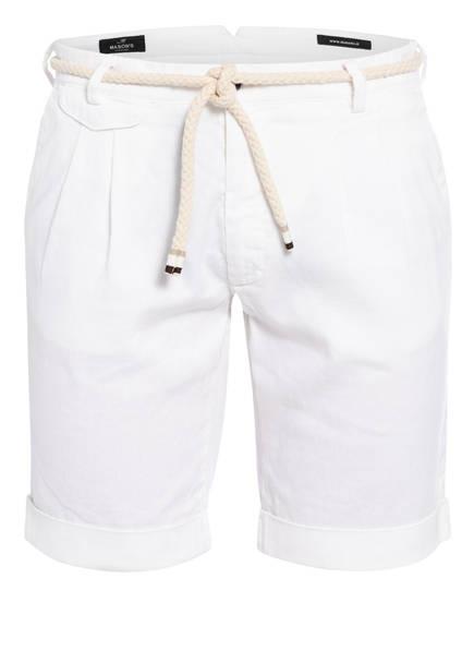 MASON'S Shorts AMALFI mit Leinen, Farbe: WEISS (Bild 1)