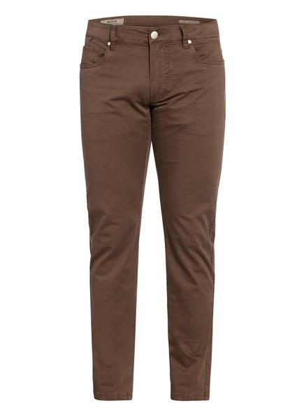 AT.P.CO Hose EVAN Extra Slim Fit, Farbe: BRAUN (Bild 1)