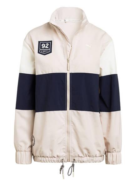 PUMA Trainingsjacke, Farbe: BEIGE/ DUNKELBLAU (Bild 1)