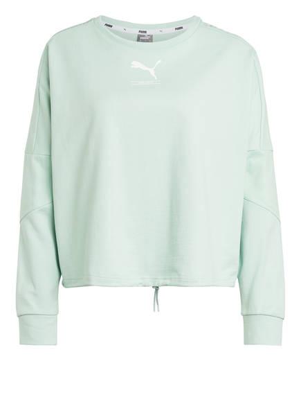 PUMA Sweatshirt NU-TILITY, Farbe: MINT (Bild 1)
