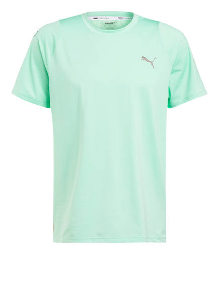 PUMA T-Shirt POWER THERMO R+, Farbe: MINT (Bild 1)