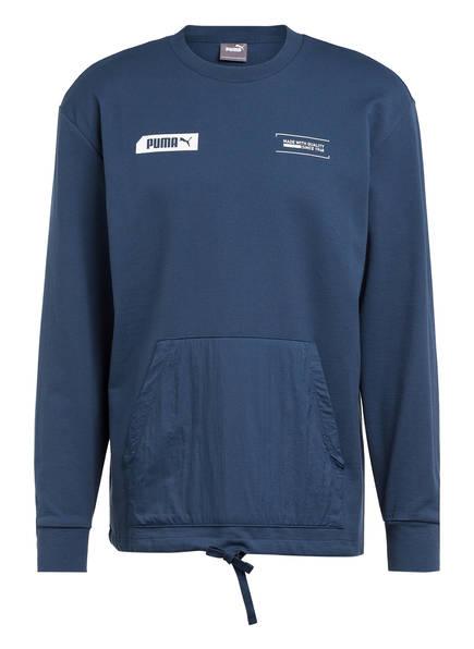 PUMA Sweatshirt NU-TILITY, Farbe: BLAUGRAU (Bild 1)