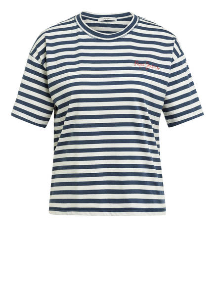 Pepe Jeans T-Shirt CLAIRE, Farbe: WEISS/ HELLBLAU/ ROT (Bild 1)