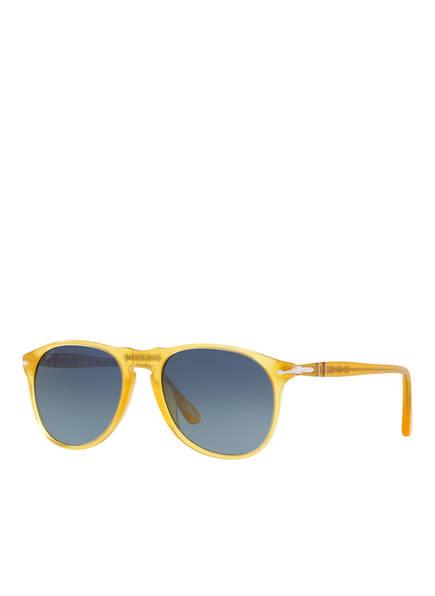 Persol Sonnenbrille PO9649S, Farbe: 204/S3 - GELB/ BLAU POLARISIERT (Bild 1)