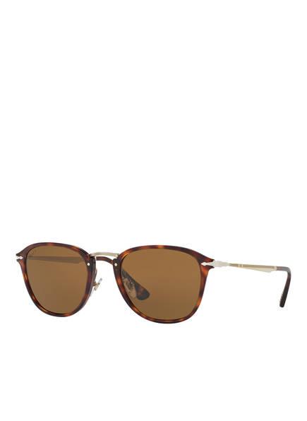 Persol Sonnenbrille PO3165S, Farbe: 24/57 - HAVANA/ BRAUN POLARISIERT (Bild 1)