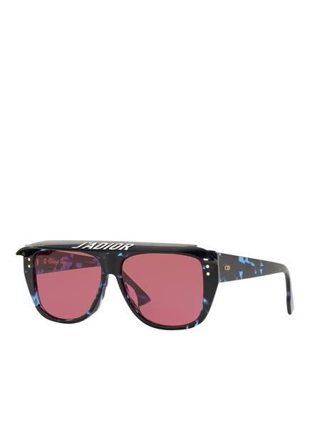 Dior Sunglasses Sonnenbrille DIORCLUB2, Farbe: 4420R1 - SCHWARZ/ ROT (Bild 1)
