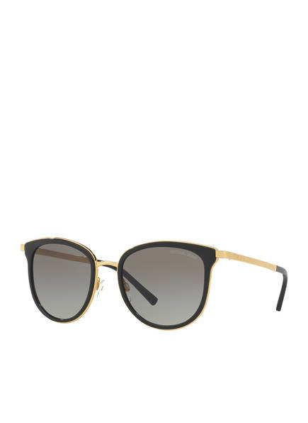 MICHAEL KORS Sonnenbrille MK1010 ADRIANNA I, Farbe: 110011 - SCHWARZ/ GOLD/ GRAU (Bild 1)