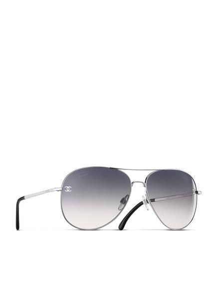CHANEL Pilotensonnenbrille, Farbe: C124S8 - GRAU VERLAUF POLARISIERT (Bild 1)
