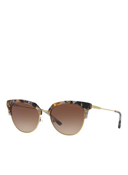 MICHAEL KORS Sonnenbrille MK1033, Farbe: 333913 - HAVANA/ GOLD/ BRAUN VERLAUF (Bild 1)