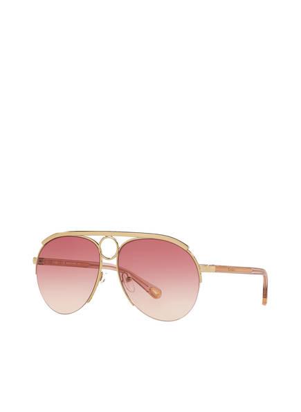 Chloé Sonnenbrille 06N000279, Farbe: 2390R2 - GOLD/ PINK VERLAUF (Bild 1)