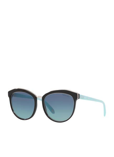 TIFFANY & Co. Sunglasses Sonnenbrille TF4146, Farbe: 80019S - SCHWARZ/ TÜRKIS VERLAUF (Bild 1)