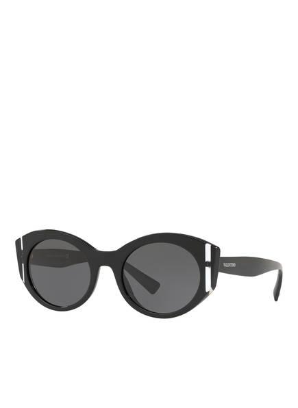 VALENTINO Sonnenbrille VA4039, Farbe: 500187 - SCHWARZ/ DUNKELGRAU (Bild 1)