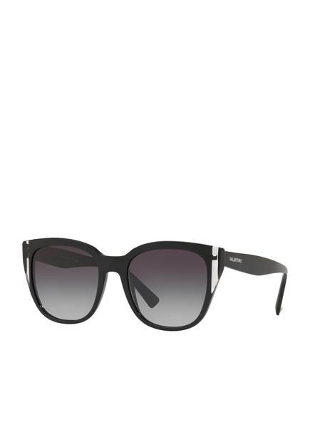 VALENTINO Sonnenbrille VA4040, Farbe: 50018G - SCHWARZ/ DUNKELGRAU VERLAUF (Bild 1)