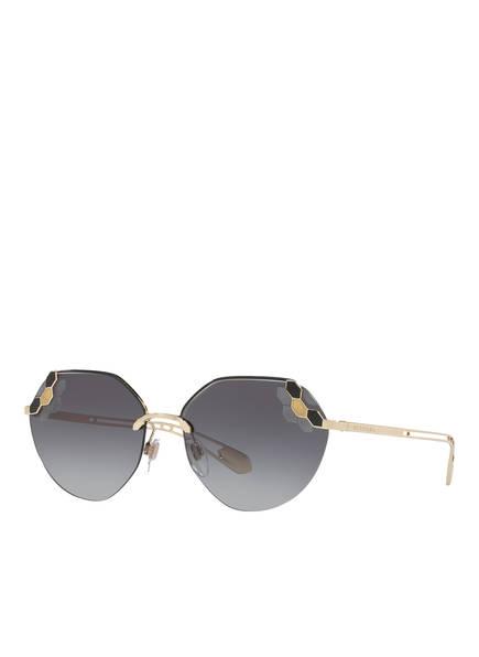 BVLGARI Sunglasses Sonnenbrille BV6099, Farbe: 20188G - DUNKELGRAU/ GRAU VERLAUF (Bild 1)