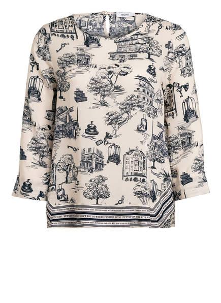 RIANI Blusenshirt , Farbe: CREME/ DUNKELBLAU (Bild 1)