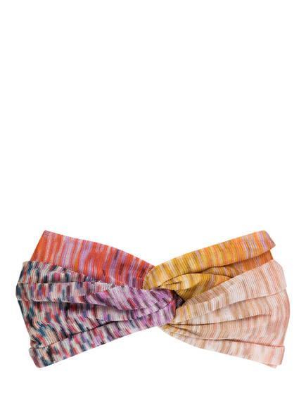 MISSONI Haarband, Farbe: LILA/ GELB/ ORANGE (Bild 1)