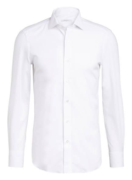 BOGLIOLI Piqué-Hemd Slim Fit, Farbe: WEISS (Bild 1)