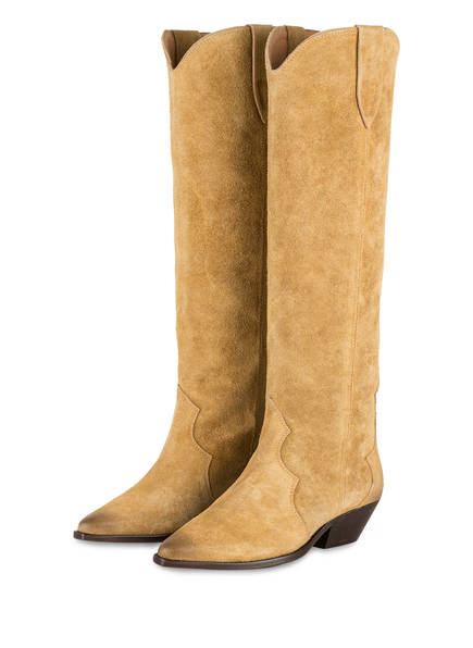 ISABEL MARANT Cowboy Boots DENVEE, Farbe: BEIGE (Bild 1)