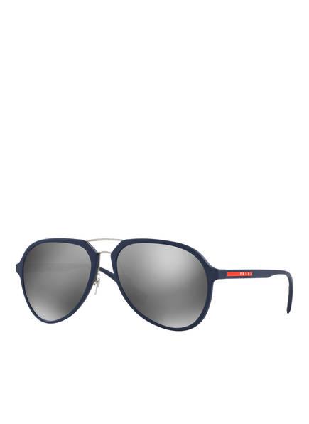 PRADA LINEA ROSSA Sonnenbrille PS 05RS, Farbe: TFY7W1 - BLAU/ GRAU  (Bild 1)
