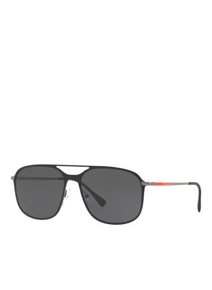 PRADA LINEA ROSSA Sonnenbrille PS 53TS, Farbe: DG05S0 - SCHWARZ/ DUNKELGRAU (Bild 1)