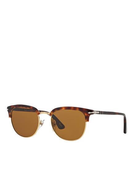 Persol Sonnenbrille PO3105S, Farbe: 24/33 - HAVANA/ BRAUN (Bild 1)