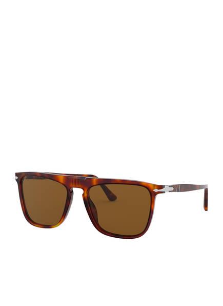Persol Sonnenbrille PO3225S, Farbe: 24/57 - HAVANA/ BRAUN POLARISIERT (Bild 1)