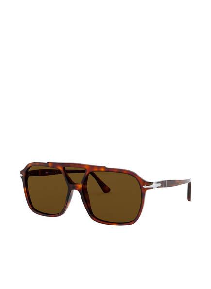 Persol Sonnenbrille PO 3223S, Farbe: 24/53 - HAVANA/ BRAUN  (Bild 1)