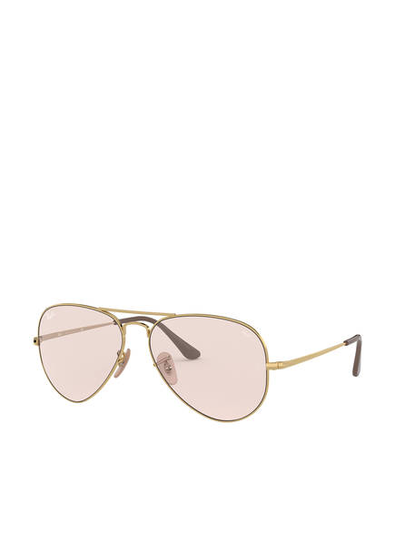 Ray-Ban Sonnenbrille RB3689 , Farbe: 001/T5 - GOLD/ HELLROSA (Bild 1)