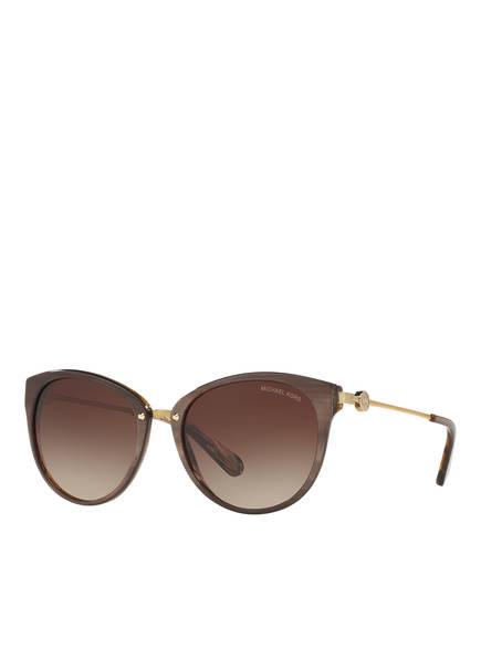 MICHAEL KORS Sonnenbrille MK 6040 ABELA III, Farbe: 321213 - TAUPE/ BRAUN VERLAUF (Bild 1)
