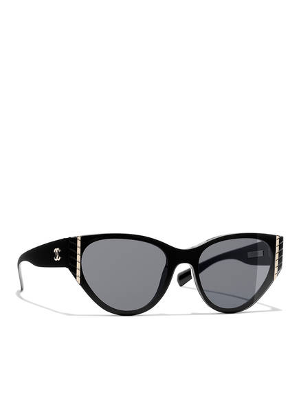 CHANEL Katzenaugenförmige Sonnenbrille , Farbe: C501S4 - SCHWARZ/ GRAU (Bild 1)