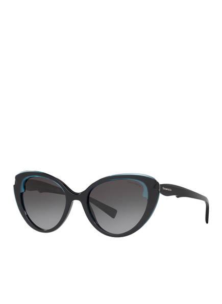 TIFFANY & Co. Sunglasses Sonnenbrille TF4163, Farbe: 82793C - SCHWARZ/ GRAU VERLAUF (Bild 1)