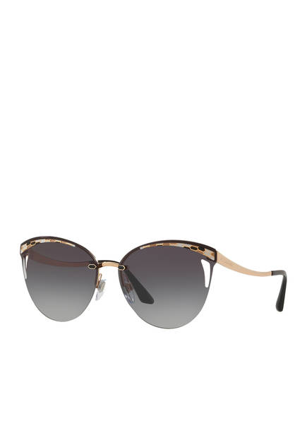 BVLGARI Sunglasses Sonnenbrille BV6110, Farbe: 20148G - GOLD/ GRAU VERLAUF (Bild 1)