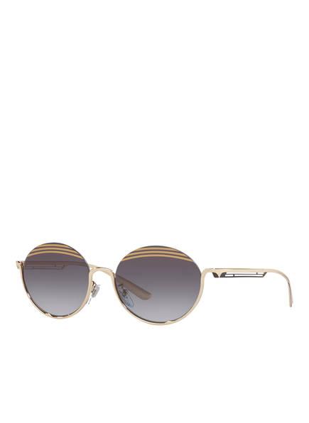 BVLGARI Sunglasses Sonnenbrille BV6119, Farbe: 278/8G - GOLD/ DUNKELGRAU VERLAUF (Bild 1)